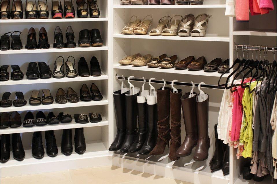 100 лучших идей: Полки для обуви (обувница) | Обувница ...