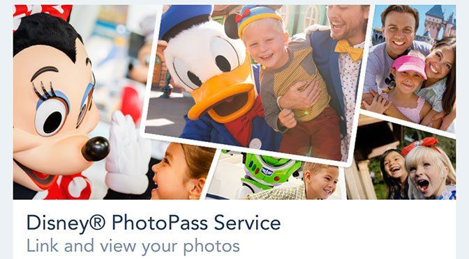 My Disney Experience updated to include Photopass photo