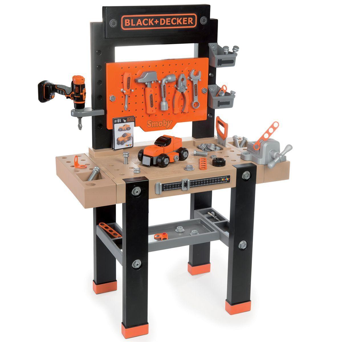 Fabulous Tool Sets Black Decker High Quality Junior Workbench Ibusinesslaw Wood Chair Design Ideas Ibusinesslaworg
