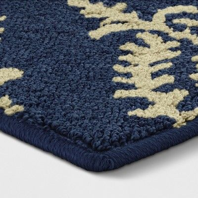 1 8 X2 10 Paisley Tufted Accent Rugs Indigo Threshold In 2020 Accent Rugs Area Rugs Rugs