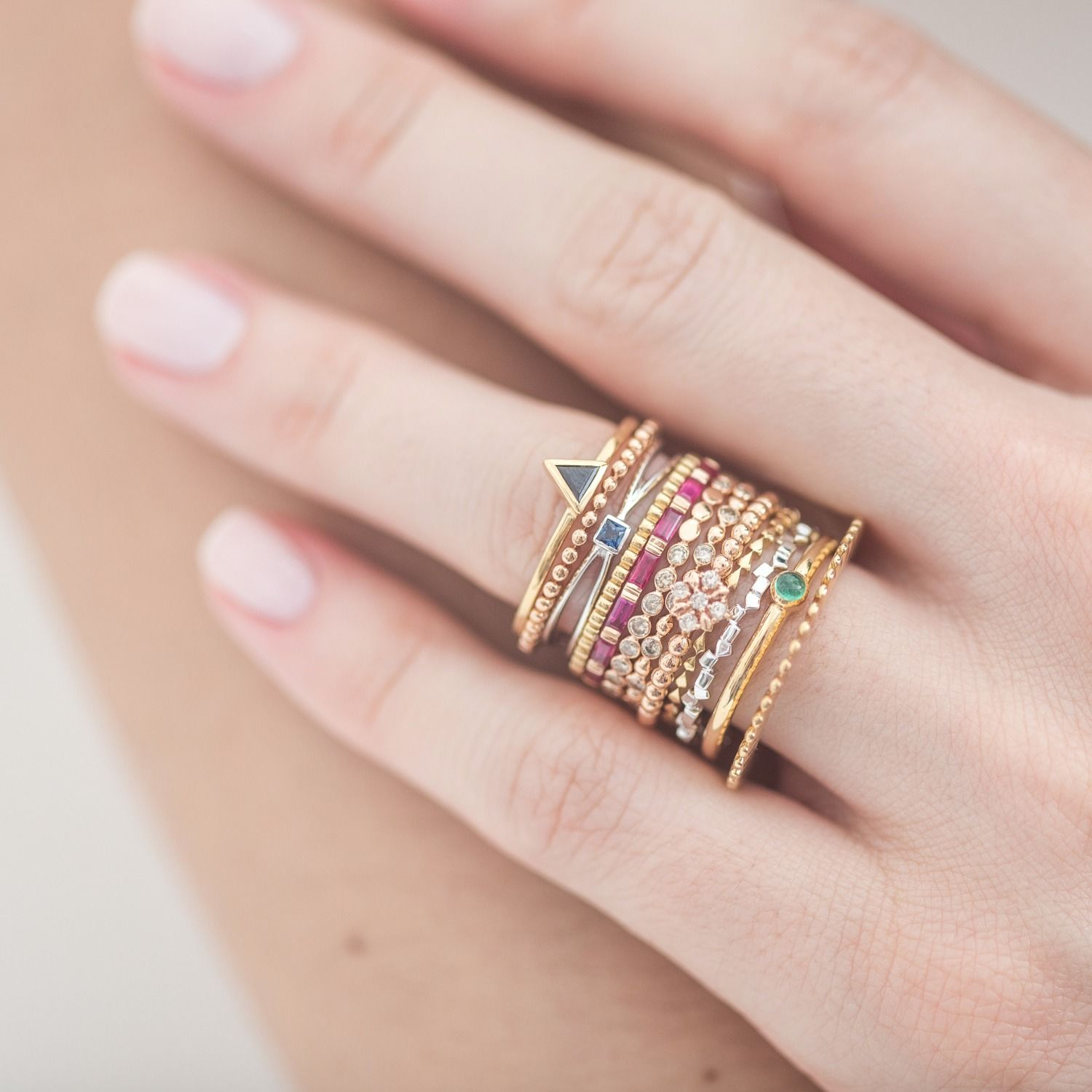 The Calendar Mix Box Ring | Box, Ring and Jewel