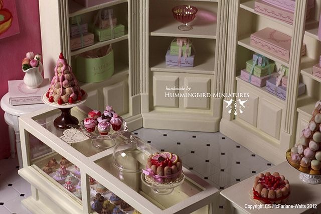 Dollhouse bakery.