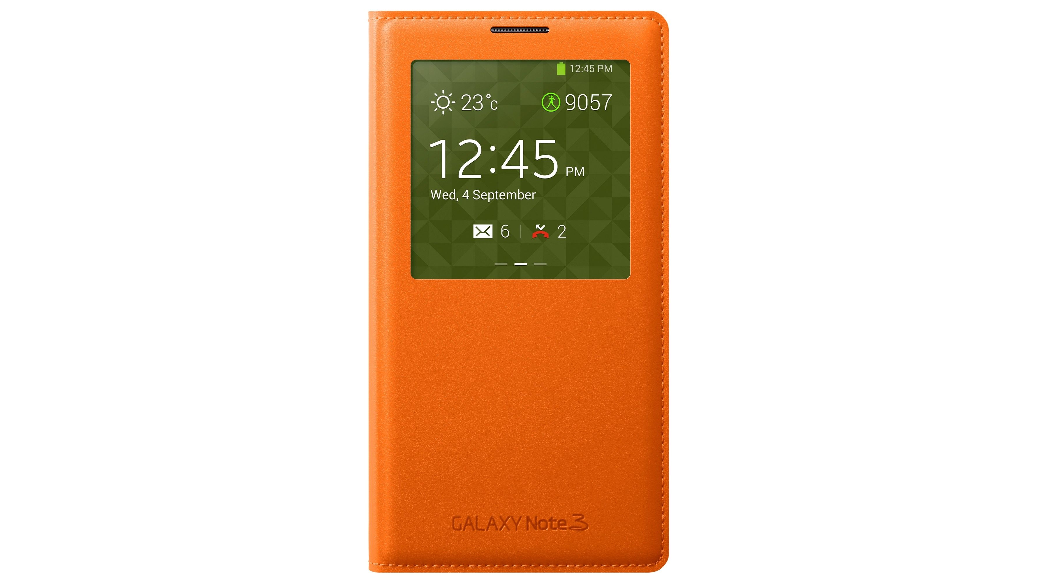 Samsung Note 3 S-View Cover - Orange