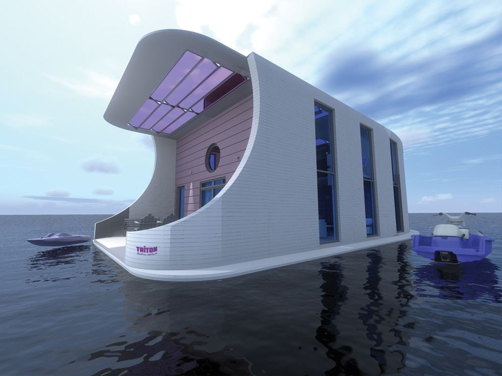 Future project  Floating architecture
