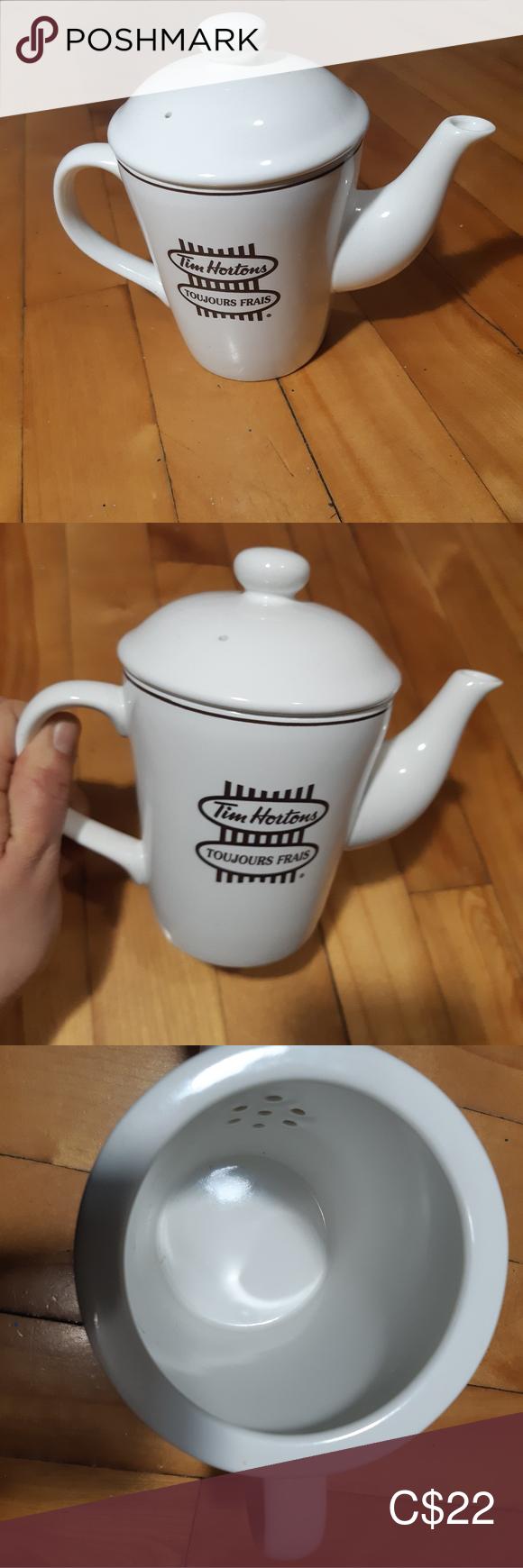 Tim Hortons teapot in 2020 Tea accessories, Tea pots