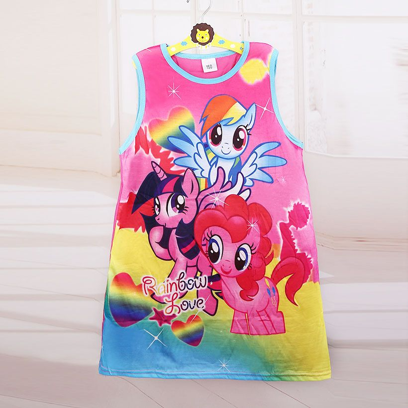 af85517e42e4 Hot Sale New 2018 baby girl Cartoon Fashion princess flower dress ...