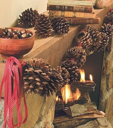 Decoraci n de navidad con pi as bricolaje ideas y trucos de decoraci n bricolaje pinterest - Bricolaje y decoracion ...