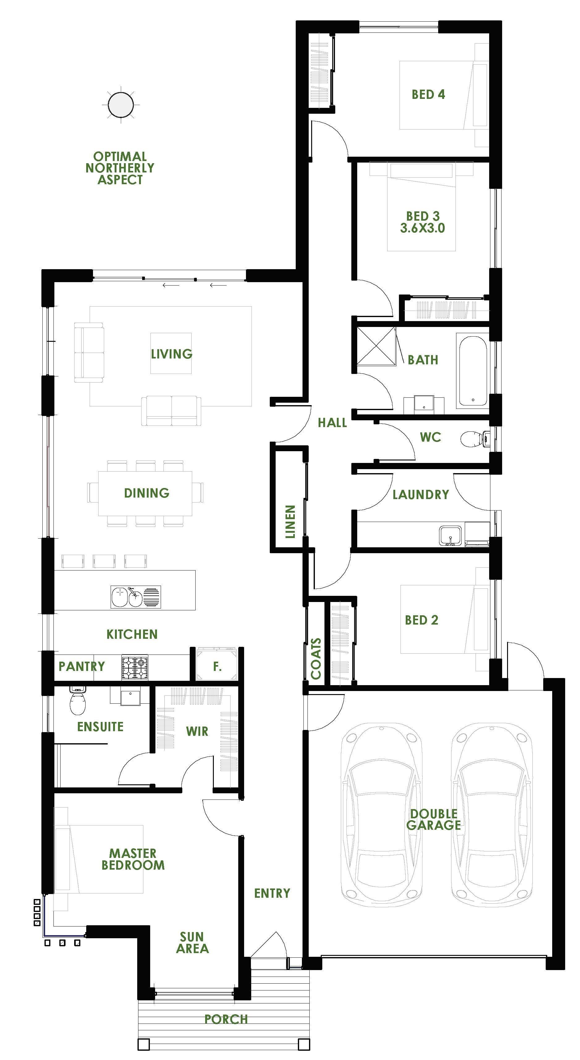 Energy Efficient House Designs Floor Plans