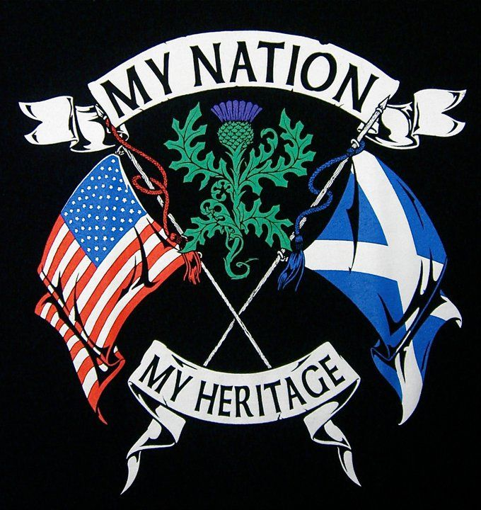 Scottish Flag Tattoos: I Want This As A Tattoo On My Back But I Want The Ribbon