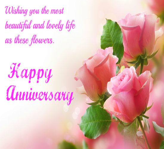 Wedding Day Images With Name: Anniversary Greetings For A Couple