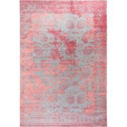 Photo of benuta Flachgewebeteppich Frencie Rot/Blau 200×285 cm – Vintage Teppich im Used-Look benuta