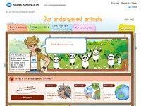 konicaminolta: our endangered animals