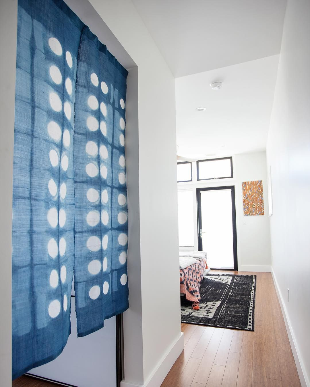 Quite Enamoured With This Japanese Noren Curtain My Client