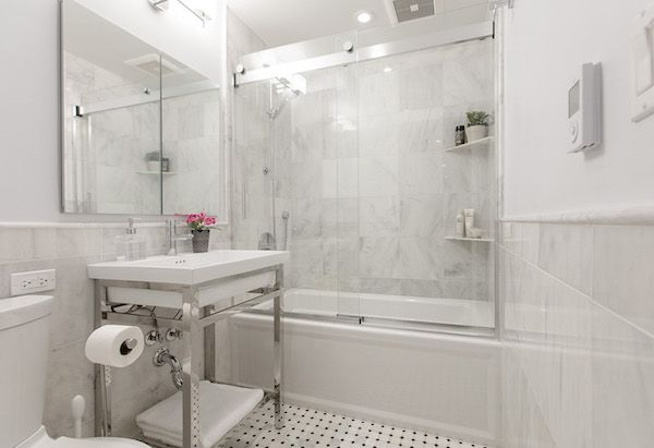 Before & After A New York Apartment Dream Come True — Sweeten Enchanting Bathroom Remodeling Nyc Decorating Design
