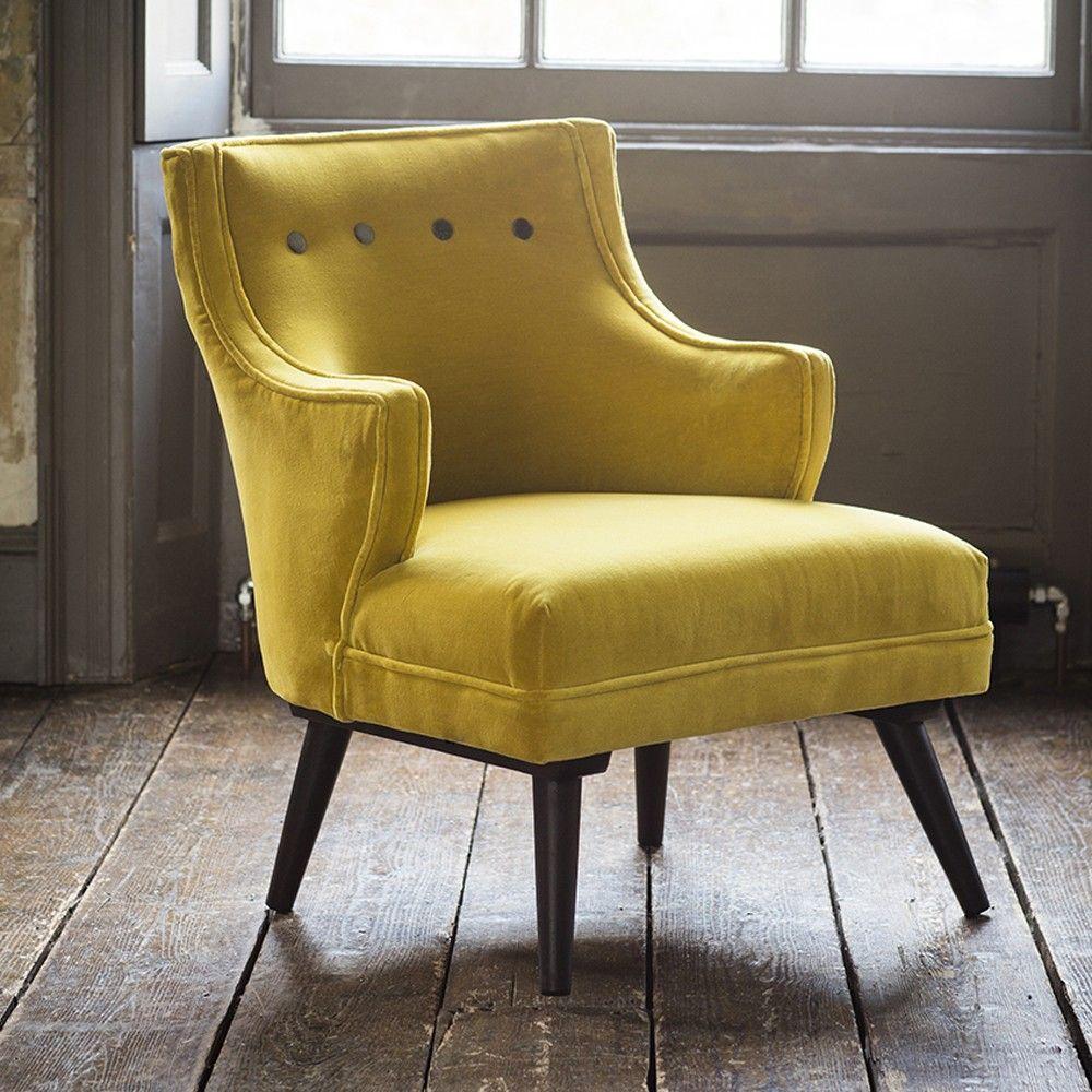mustard yellow furniture. Lola Chair In Mustard Yellow And Grey Velvet Furniture C