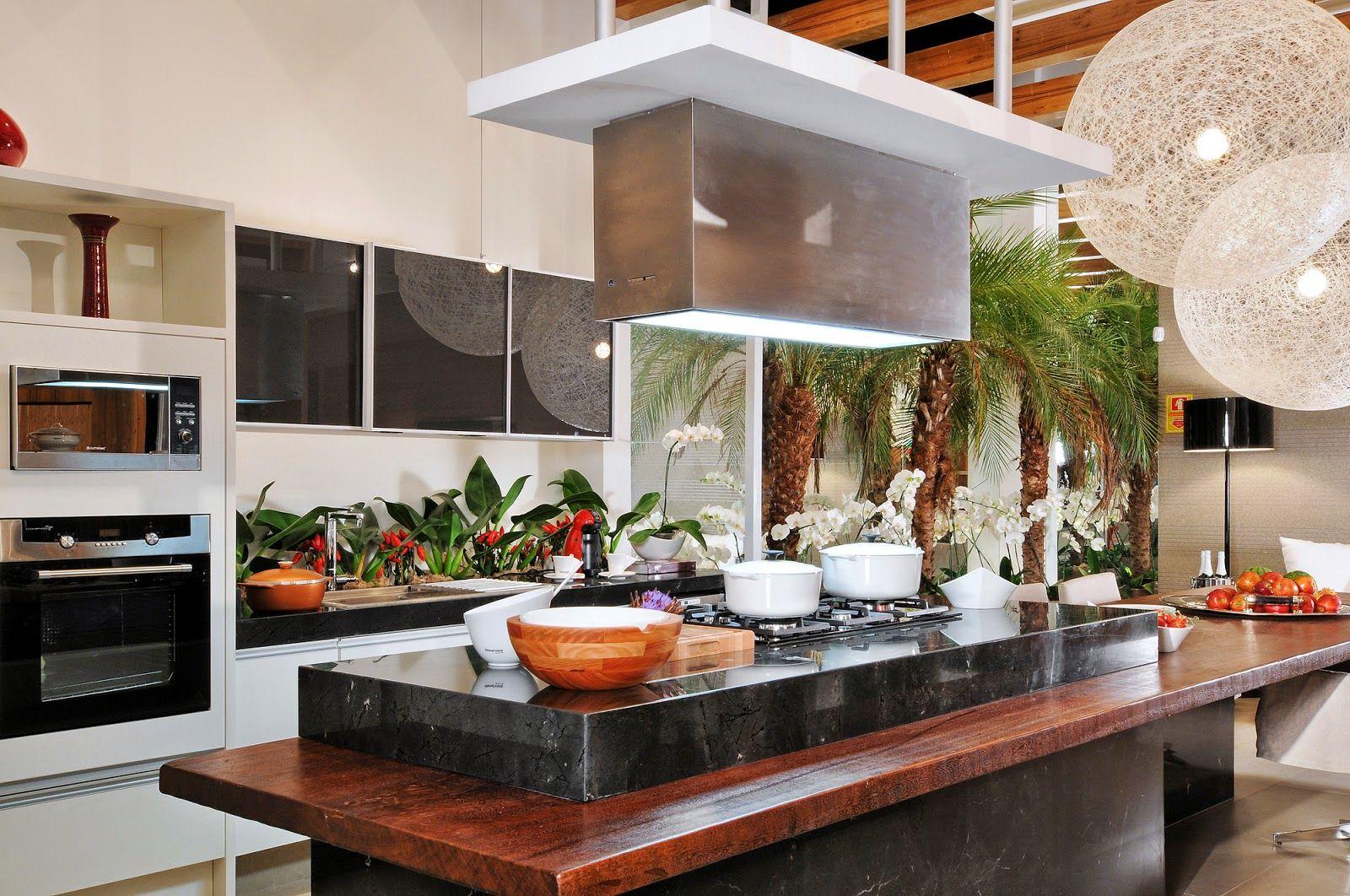 Tend Ncia De Cozinhas Com Ilha Central E Ilha Americana Veja Dicas