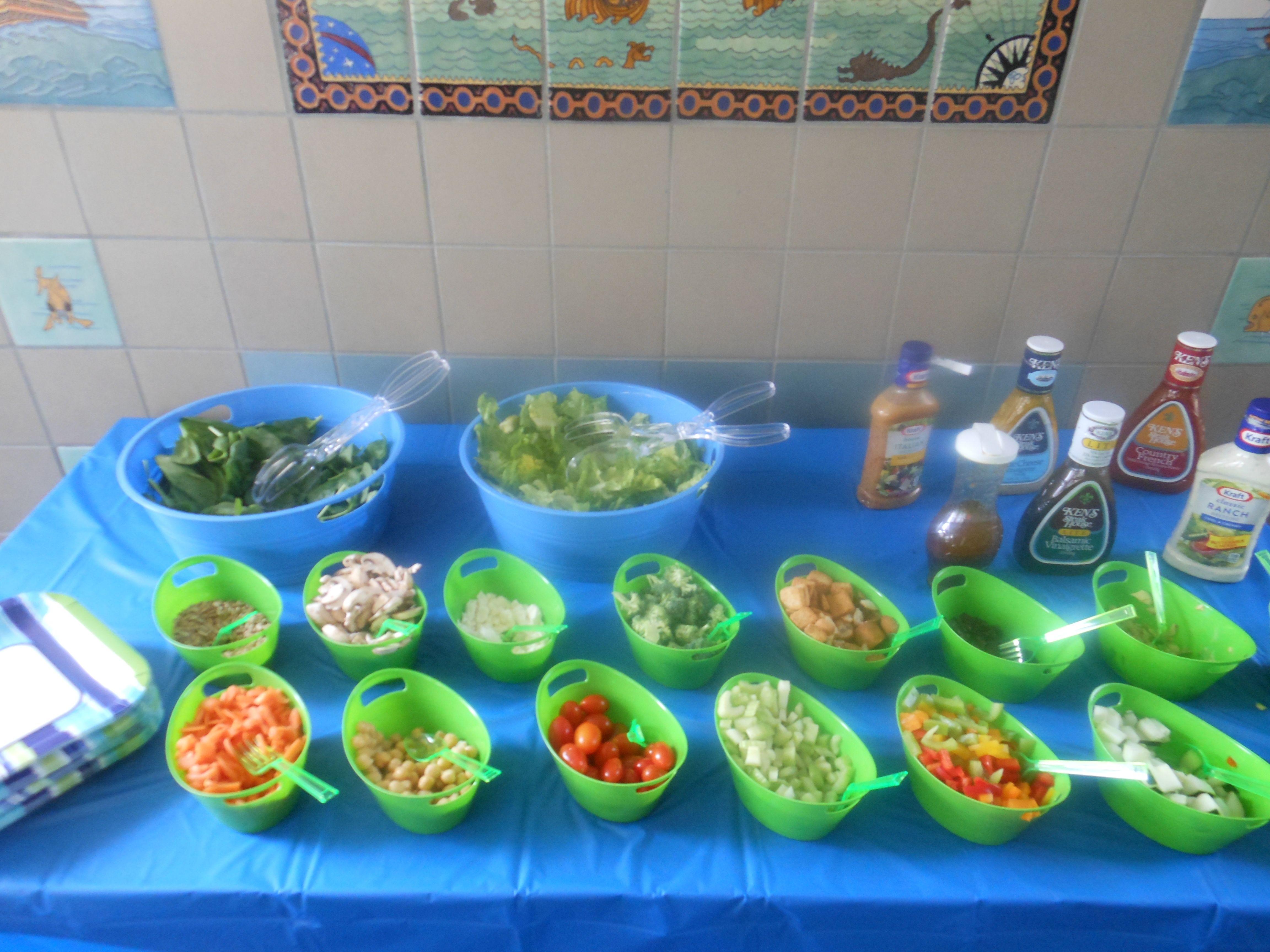 Great lunch ideas, Soup bar and Platter ideas on Pinterest  Salad Bar Luncheon Ideas