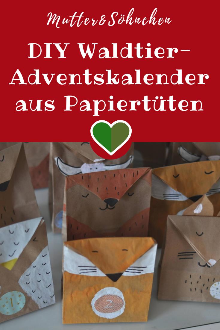DIY Waldtier-Adventskalender – Anleitung für zwei Varianten : Wir basteln einen…