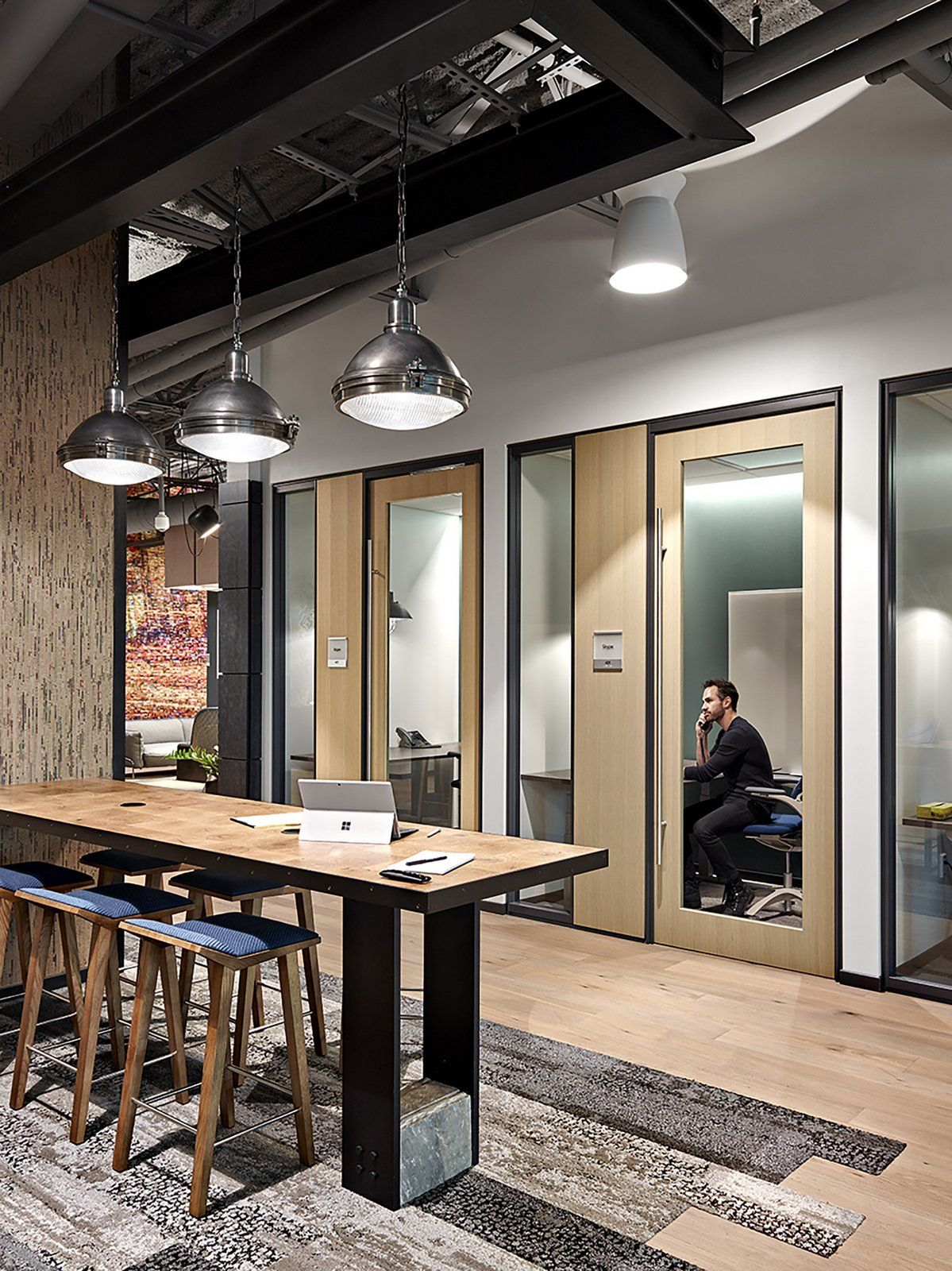 Office tour microsoft offices nashville interiors - Interior design school nashville ...