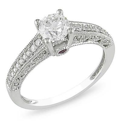 great ct white gold engagement ring jcpenney - Jcpenney Rings Weddings