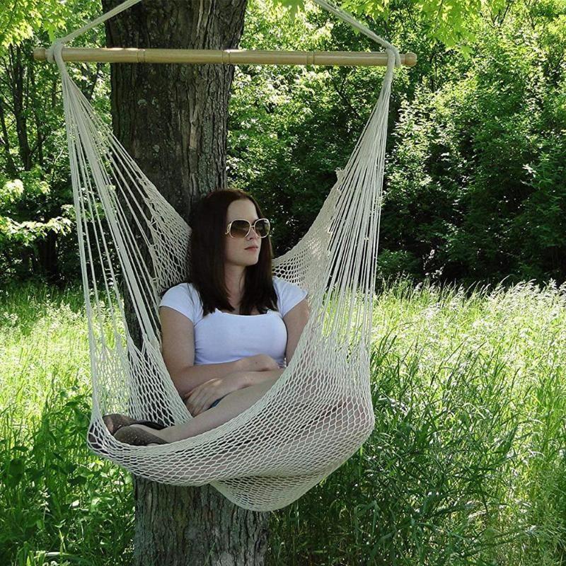 Single rope hammock chair