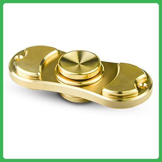 Hands Spinner, Quality Brass Ceramic Bearing, EDC Fidget Spinner For ADHD, Anxiety, Spins 3-7 Minuters - Fidget spinner (*Amazon Partner-Link)