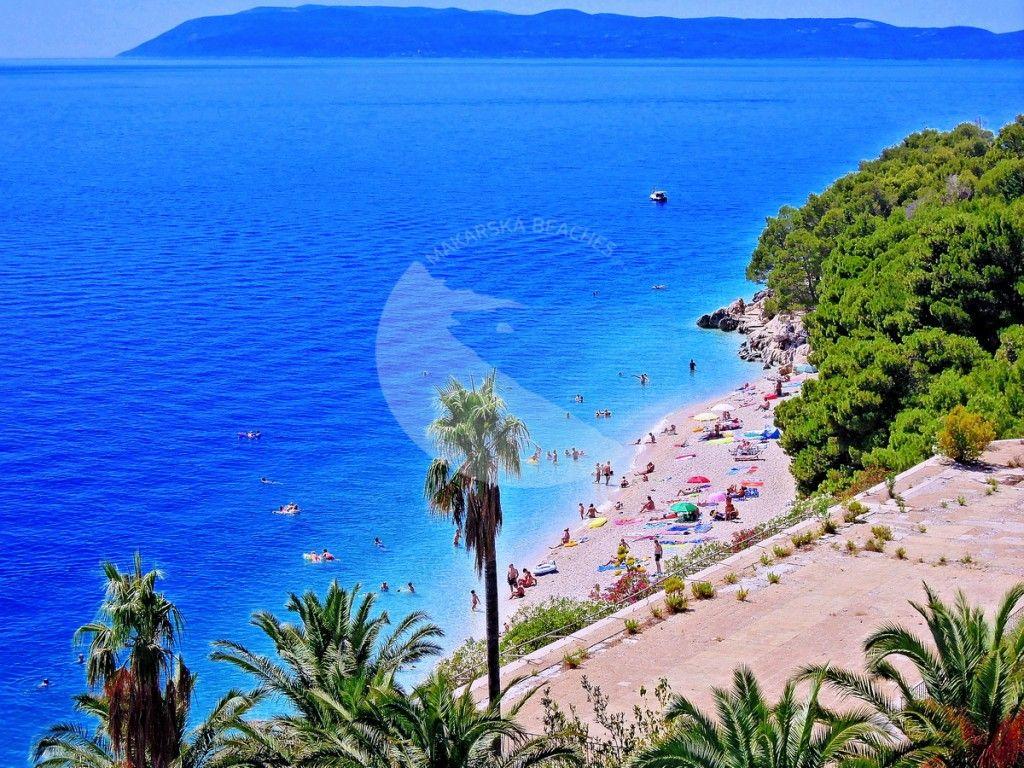Pin On Makarska Riviera Beaches