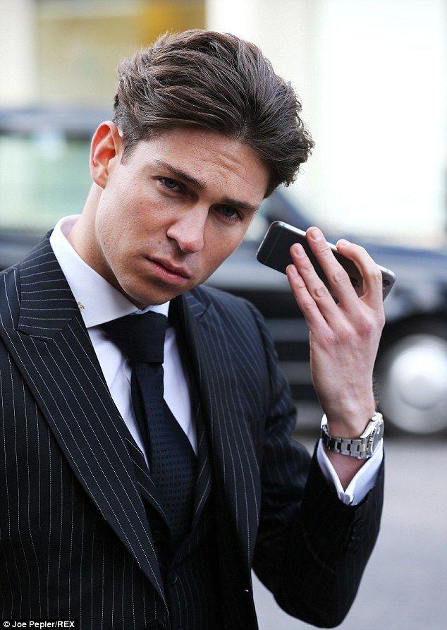 Joey Essex Joey Essex Cutaway Collar Mens Fashion Smart