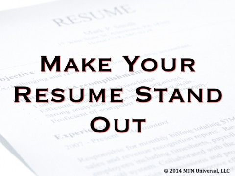 Your first impression is sometimes your only impression, so make - how to make your first resume