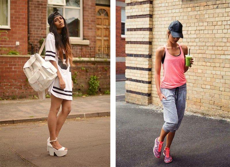 mode id es looks femme girl girly jogging sportive sport cool d contract sportwear. Black Bedroom Furniture Sets. Home Design Ideas