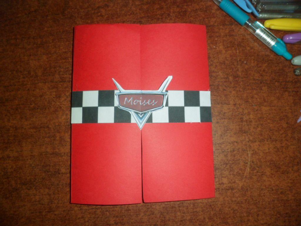 Invitacion De Cars Cumpleaños Cars Invitaciones Y