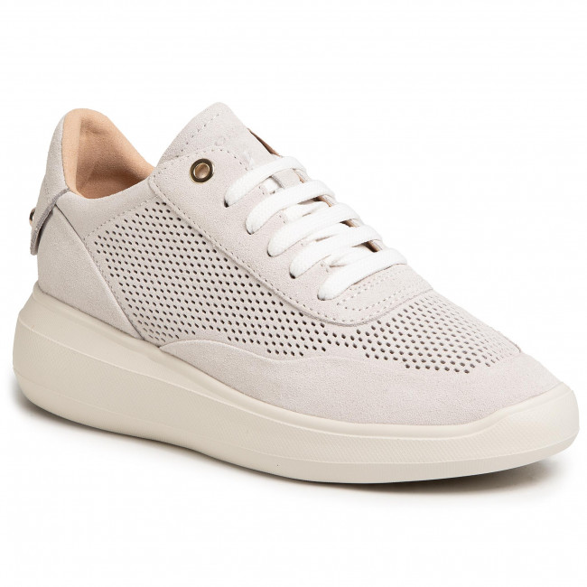 Sneakersy Geox D Rubidia A D84apa 00022 C1002 Off White Sneakersy Polbuty Damskie Eobuwie Pl Off White Geox Shoes