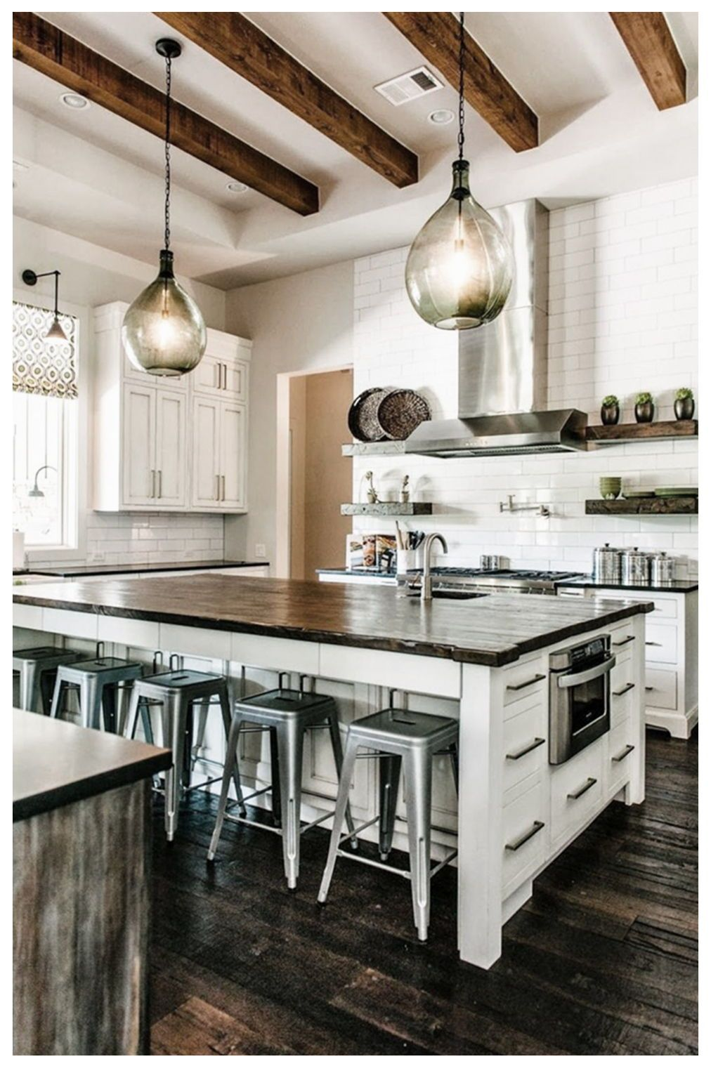 20 Industrial Style Kitchen 2020 Trends Key Elements Design Ideas Interior Design Kitchen Industrial Style Kitchen Transitional Kitchen Design