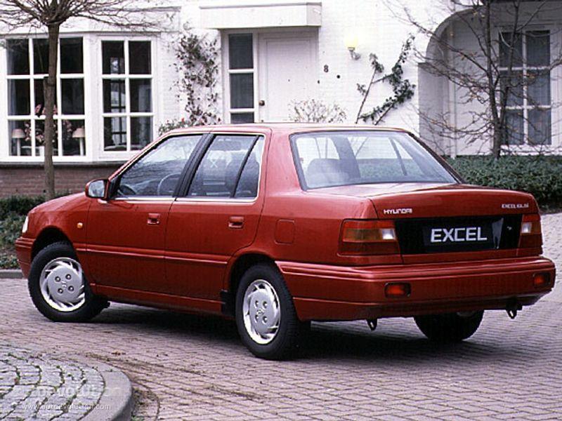 Hyundai Excel 4 Doors 1989 1990 1991 1992 1993 1994 Hyundai Hyundai Canada Hyundai Motor