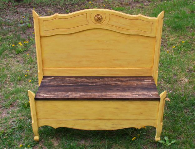 Terrific Yellow Bench Chairs Recliners Ottawa Kijiji Dailytribune Chair Design For Home Dailytribuneorg