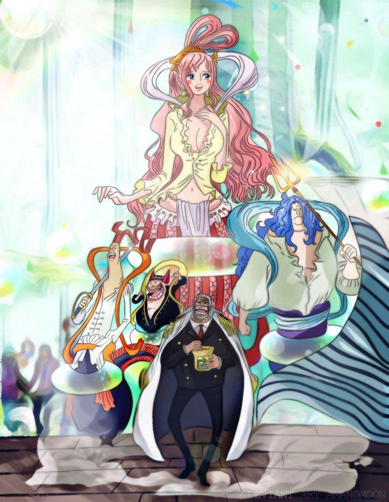 One Piece 905 Garp Go Reverie Shiraoshi Kingdom By Amanomoon One Piece Anime One Piece Images One Piece Manga