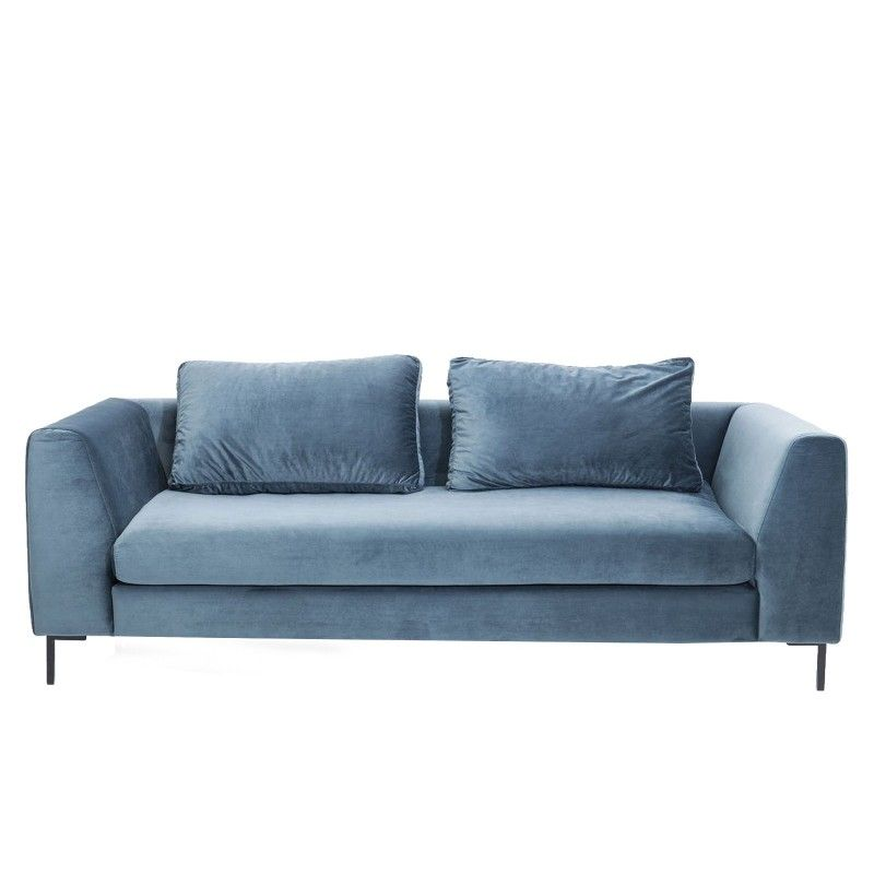 Canape Contemporain Bleu Vert Gianna Kare Design Canape