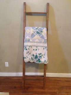 Blanket Ladder Furniture And Crafts I Ve Done Pinterest