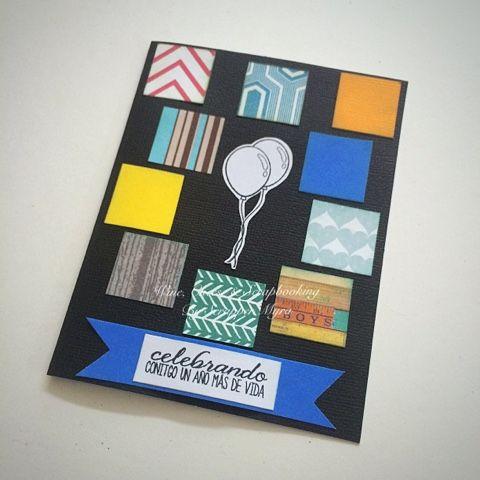 Wine, Cheese and Scrapbooking: Otra tarjeta de Cumpleaños!
