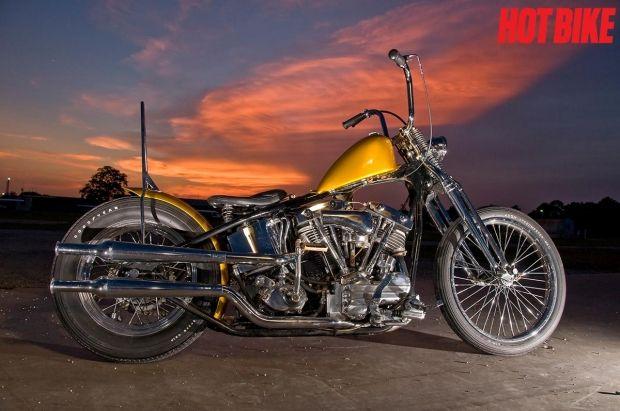 1969 Harley Generator Shovelhead Chopper | Harley Chopper | Totally Rad Choppers