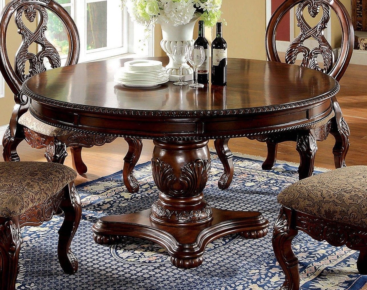 Buy Classic Style Dining Room Furniture From Our Online Store In OrlandoMiami Central Jacksonville Tampa And South Florida FL To Give An Aged Look