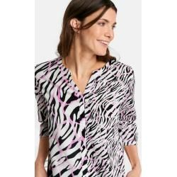 Photo of 3/4 arm blouse with multi-colored animation Gerry Weber
