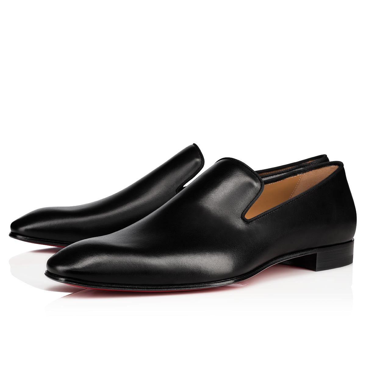 Dandelion Black Calf Men Shoes Christian Louboutin Louboutin Shoes Mens Christian Louboutin Men Loafers Men [ 1200 x 1200 Pixel ]