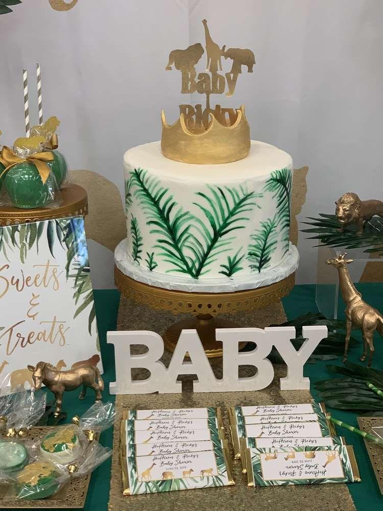 Safari Theme Baby Shower Cake : safari, theme, shower, Safari, Theme, Shower, Party, Ideas, Photo, Theme,, Cake,