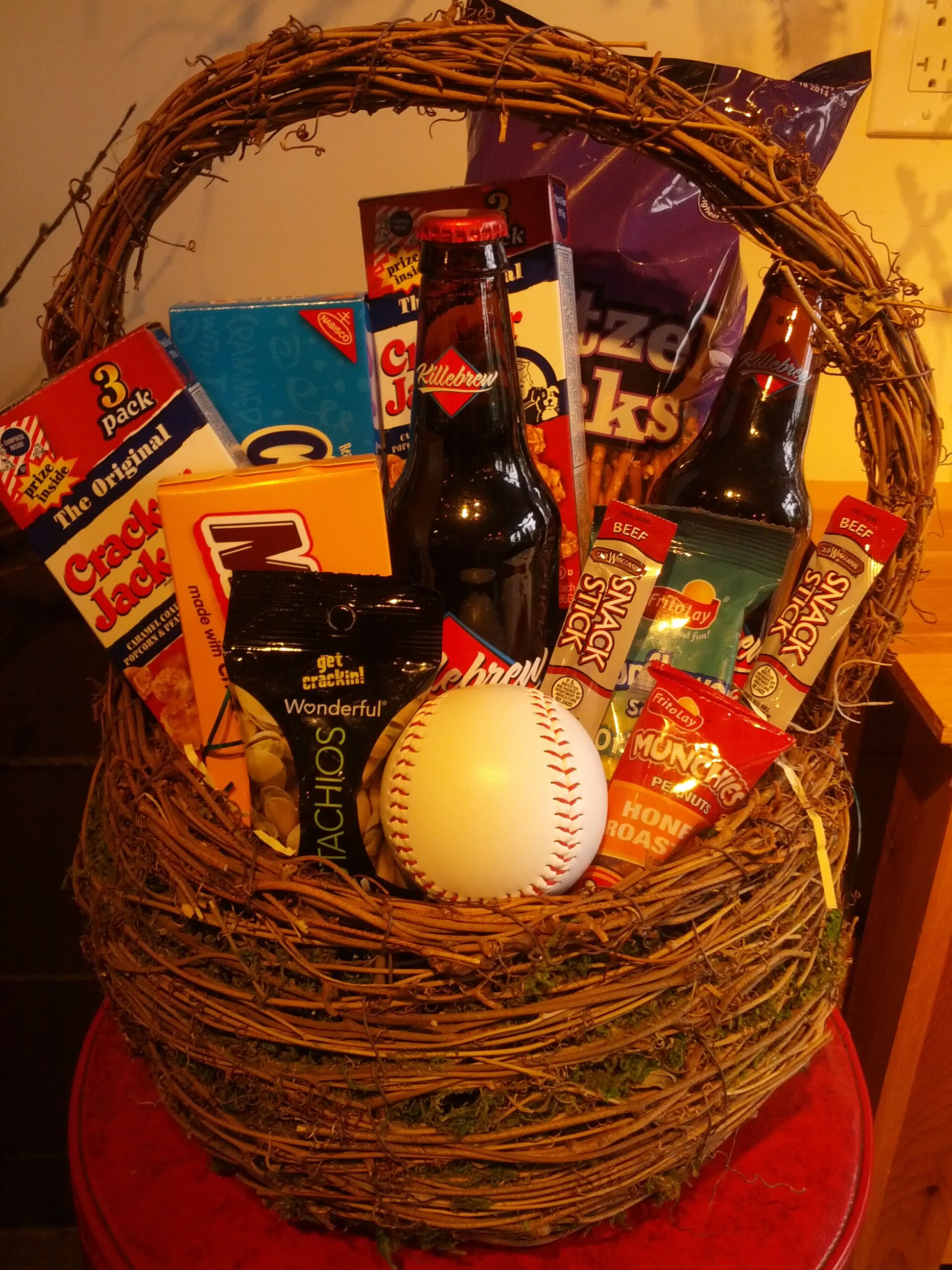 Take me out to the ball game wonderful gift baskets hermes take me out to the ball game wonderful gift baskets negle Image collections
