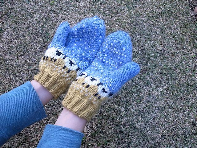 Ravelry: MrsEtsuko's Baa-ble mitten
