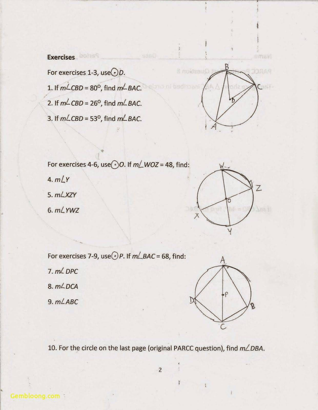 Qualifiedqualified Angles Worksheet