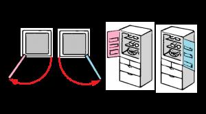 冷蔵庫 の設置場所とサイズ 必要な隙間 家電検索 Com 冷蔵庫
