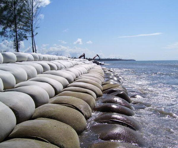 geotextile shore protection - Geomembrane - Gabion Walls for Mining
