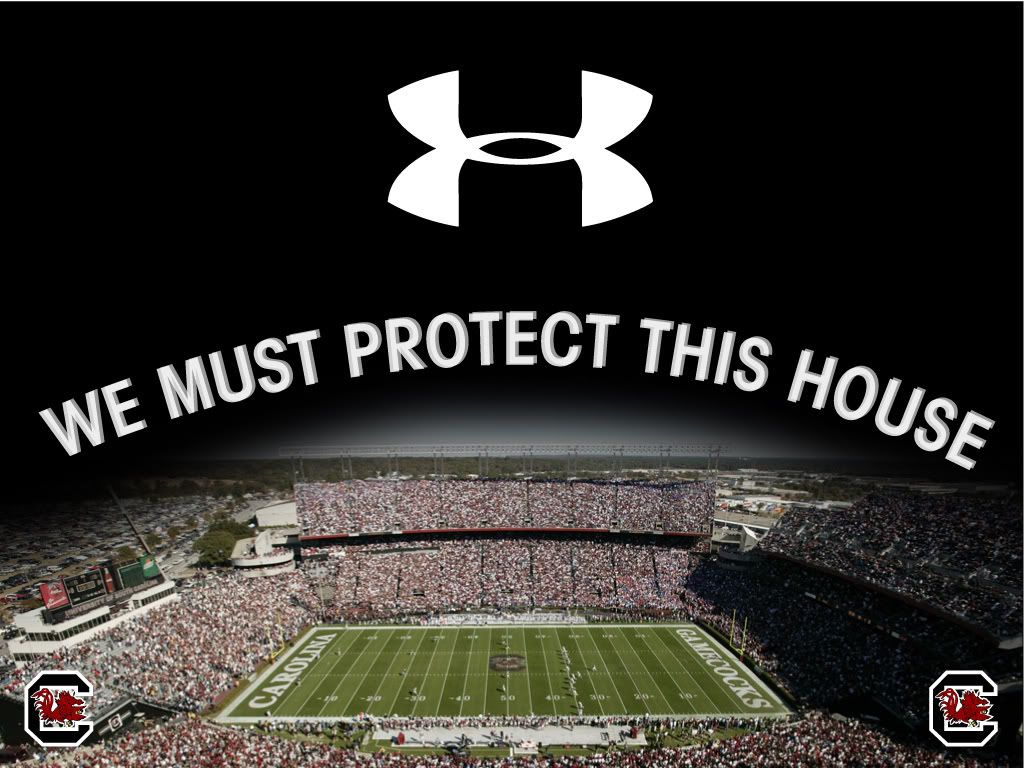 "Under Armour Protect This House Poster UA quote ""protect..."